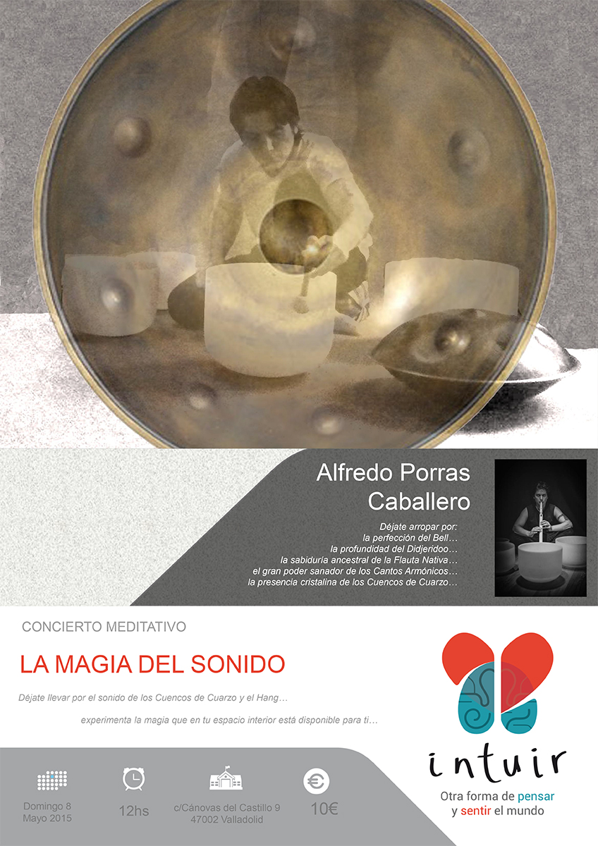 Concierto Meditativo: LA MAGIA DEL SONIDO con Alfredo Porras