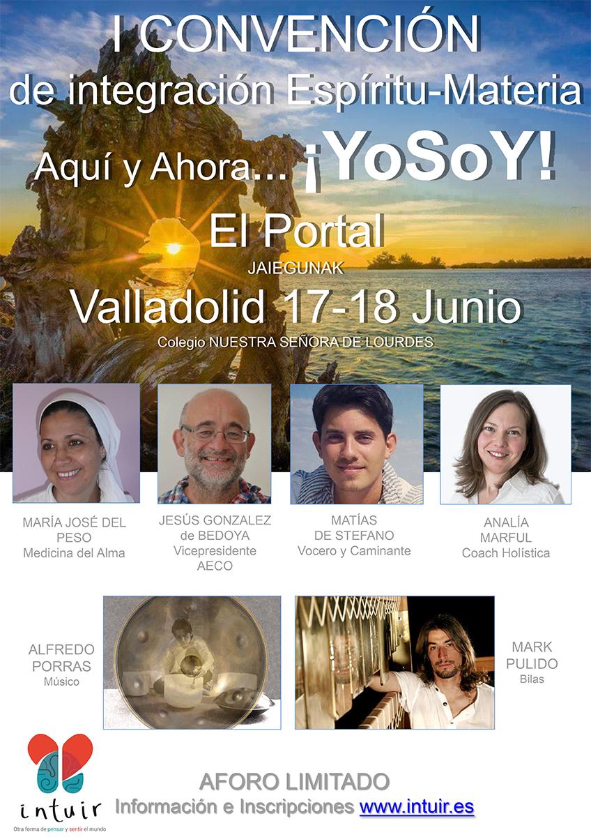 I Convención de Integración Espíritu-Materia, Valladolid (España) - Junio 2016