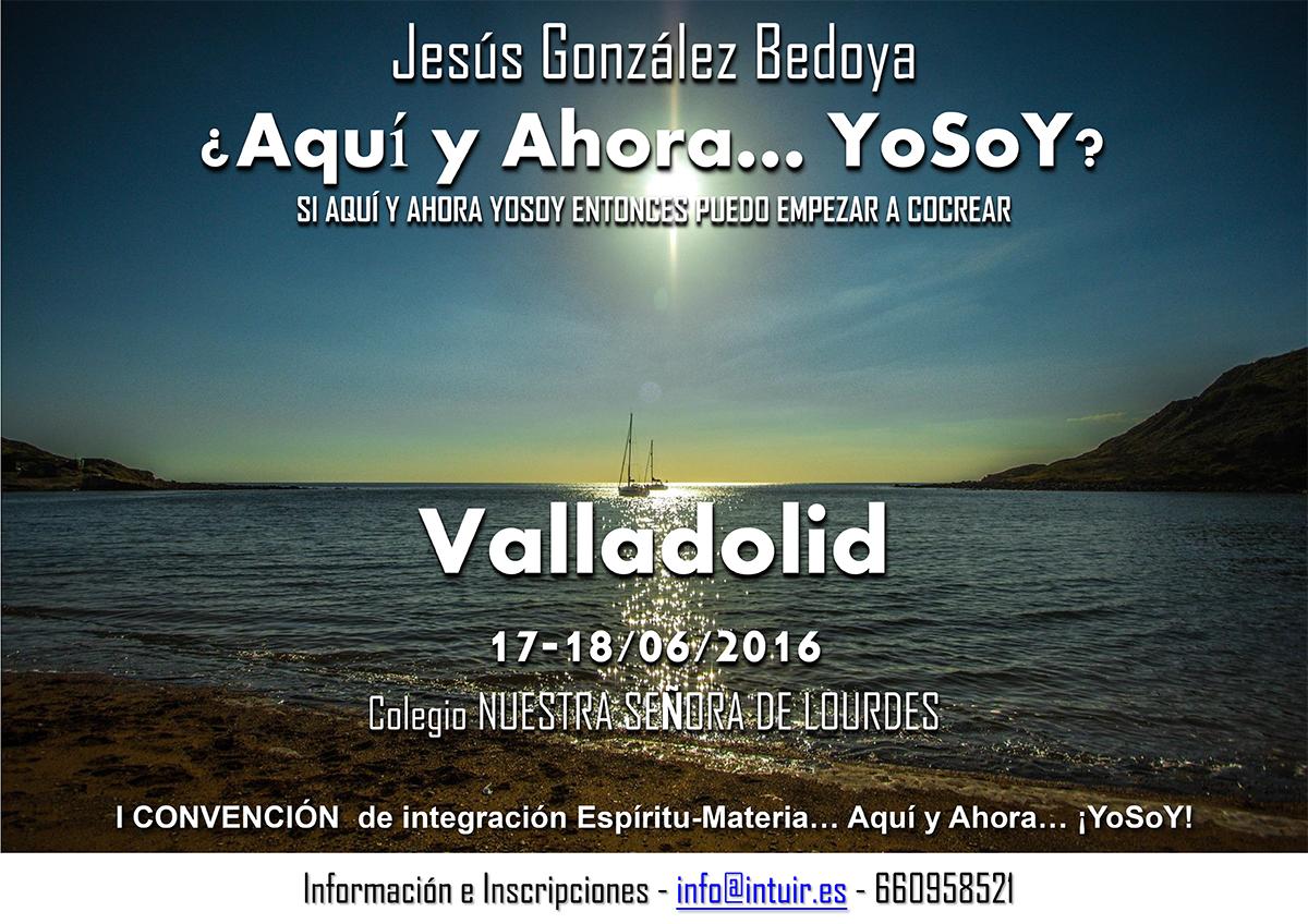 Jesús Gonzalez Bedoya en la I Convención Espíritu-Materia, Junio 2016 - Valladolid (España)