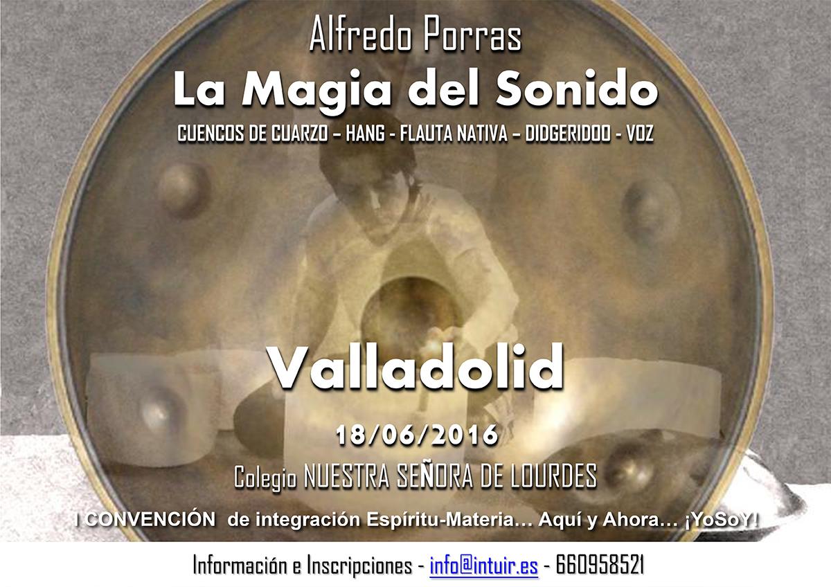 Alfredo Porras en la I Convención de Integración Espíritu-Materia, Junio 2016 - Valladolid (España)