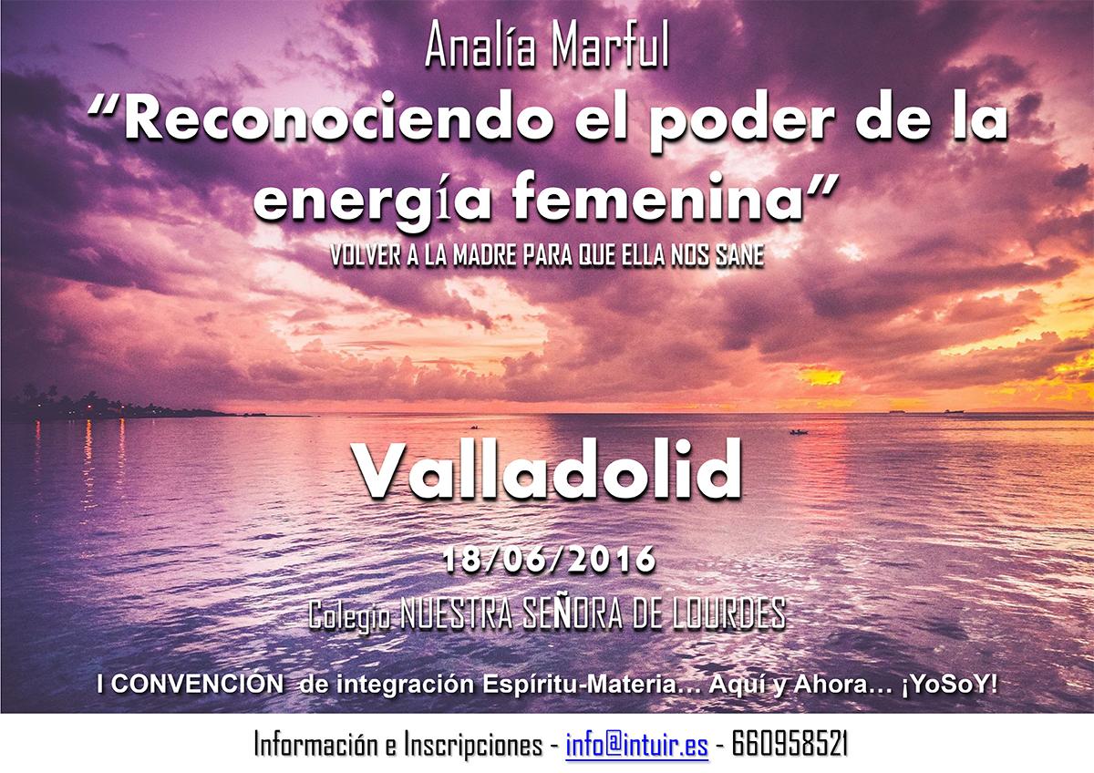 Analía Marful en la I Convención de integración Espíritu-Materia, Junio 2016 - Valladolid (España)