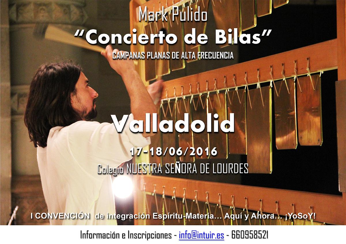 Mark Pulido en la I Convención de integración Espíritu-Materia, Junio 2016 - Valladolid (España)