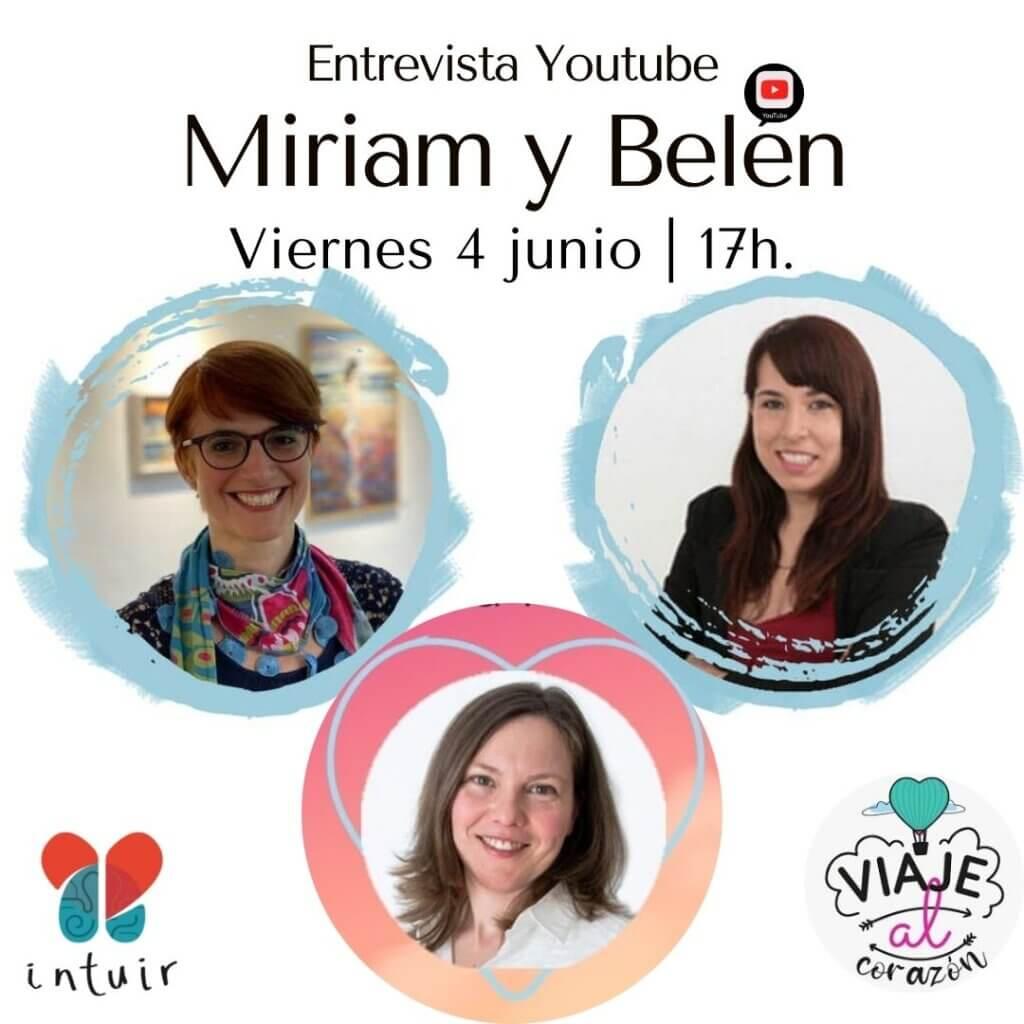 Entrevista en vivo YT a las creadoras de Un Viaje Al Corazon